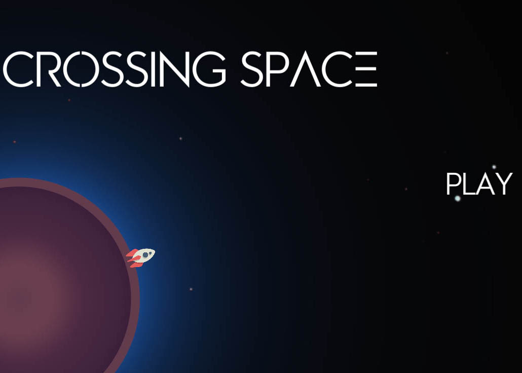 Crossing space is a 2D survival game in which you can explore galaxies and new universes.